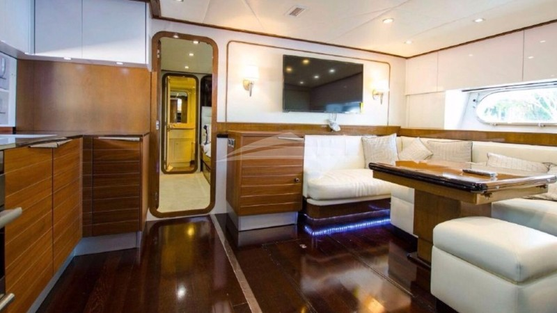 OUR NAUTI DREAM :: Galley and Salon