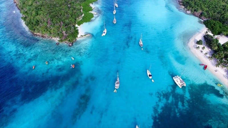 Tobago Cays in Saint-Vincent and the Grenadines