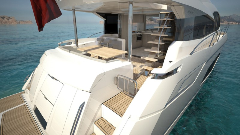 ADRIANO :: View of Aft Deck