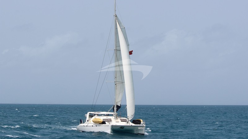 Sailing in the BVI - VIKING DREAM Charter Yacht