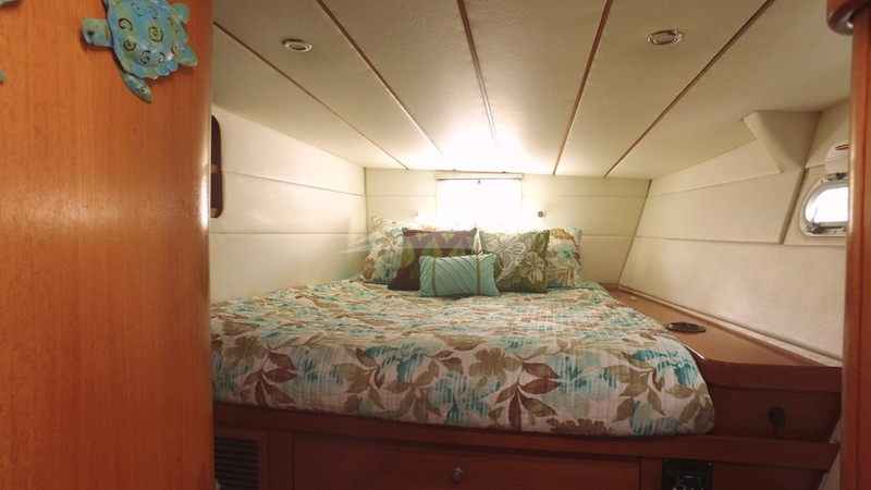 Aft Port Guest Suite - AD ASTRA Charter Yacht
