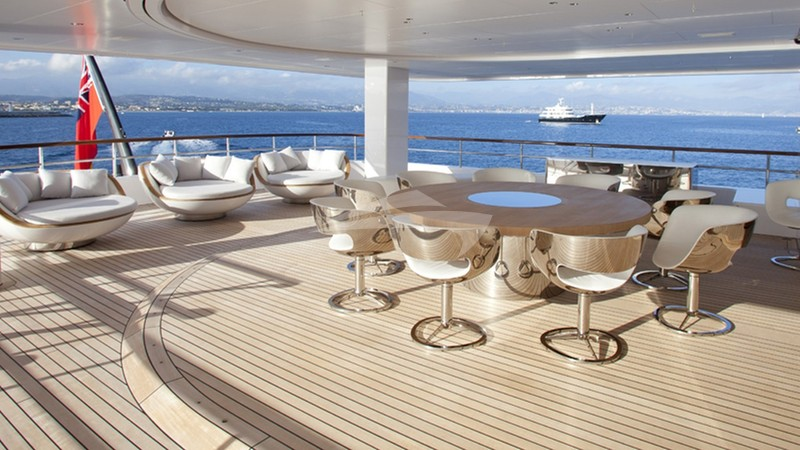 AIR Superyacht for charter