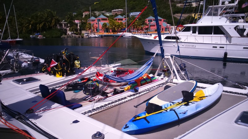 Water toys on Vision - VISION Charter Yacht
