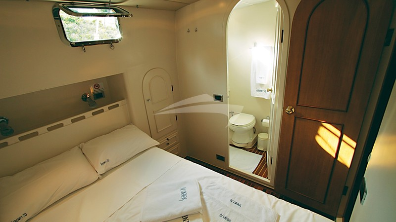 Port Double Cabin - SERENITY 70 Yacht Charter