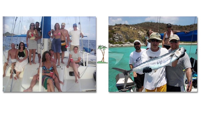 Fishing & Fun on Grand Oasis - GRAND OASIS Yacht Charter
