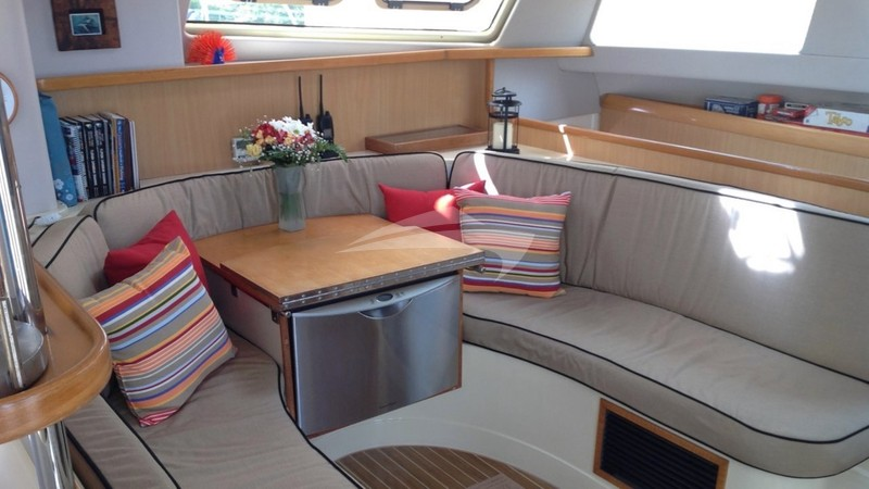 Saloon - TWO IF BY SEA Yacht Charter