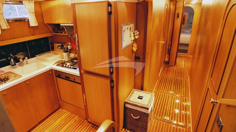 Open Galley - SERENITY 70 Yacht Charter