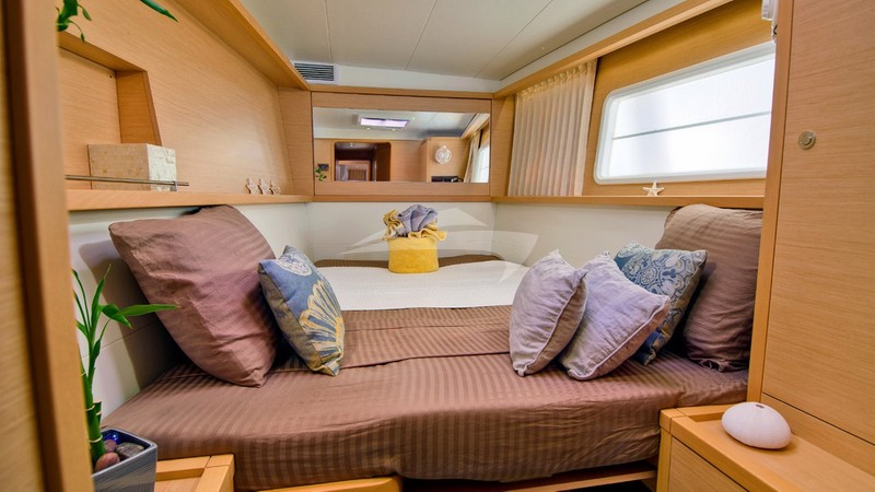 Guest cabin 1 - GYPSY PRINCESS Yacht Charter