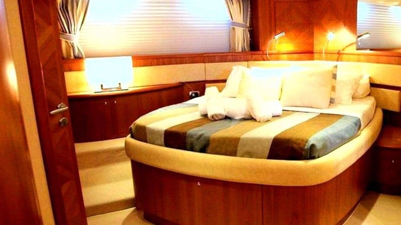 Master Bedroom - GINA STAR Yacht Charter