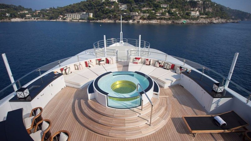 Fore Deck - PLAN B Yacht Charter