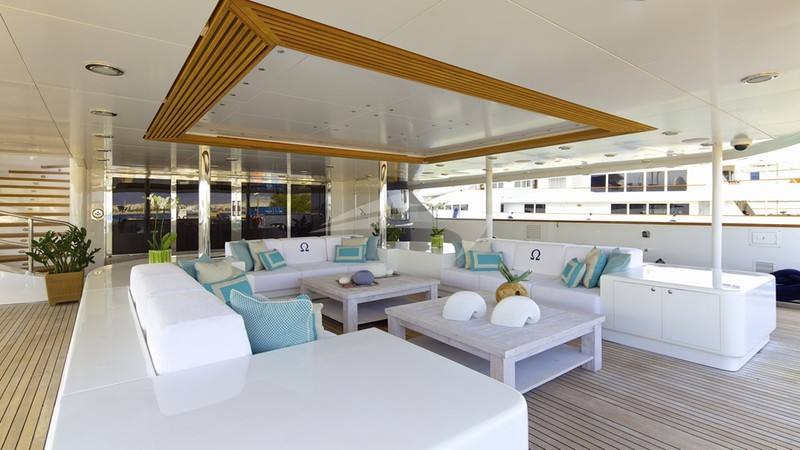 O'MEGA Superyacht for charter
