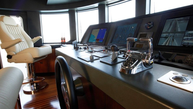 Cockpit - SERENITY II Charter Yacht