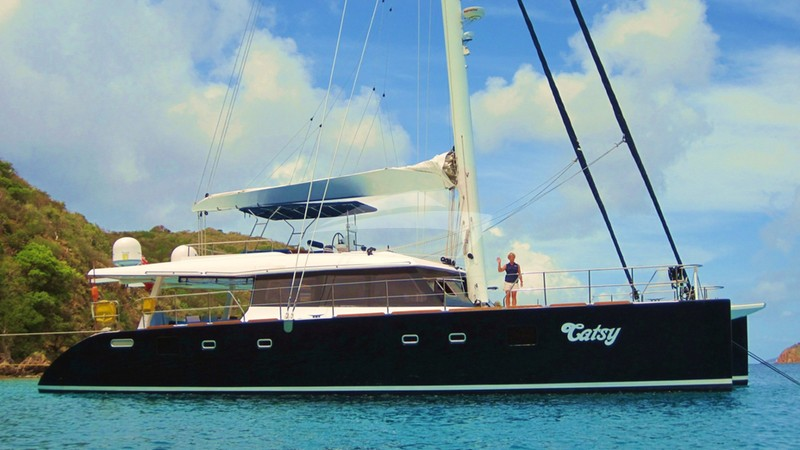 Side View - CATSY Yacht Charter