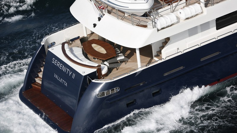 Exterior - SERENITY II Yacht Charter