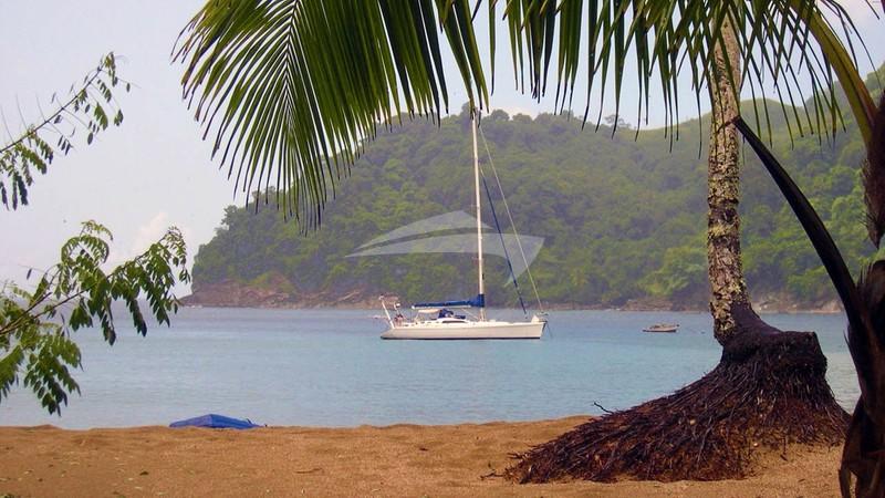 Scorpio off the island of Tobago - SCORPIO Yacht Charter