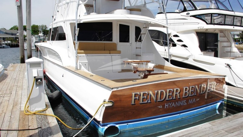 FENDER BENDER :: At Dock