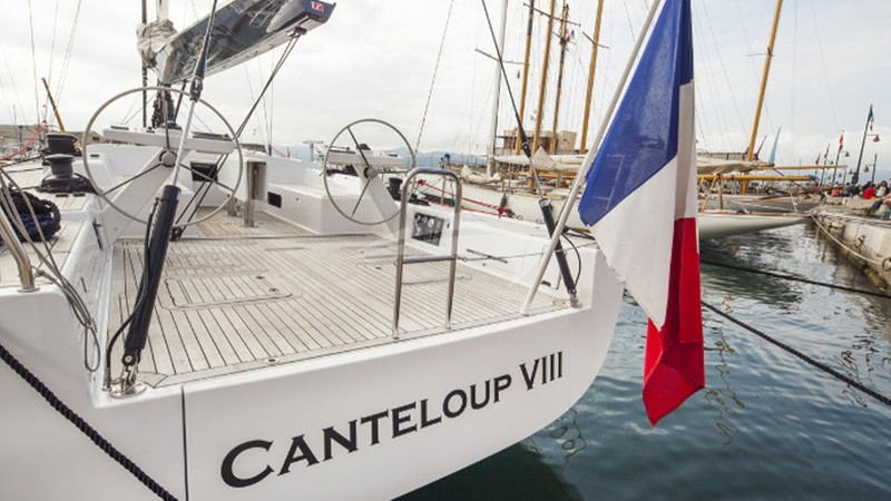 CANTELOUP VIII :: View of Aft