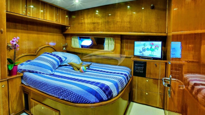 Guest Cabin - TROIA Charter Yacht