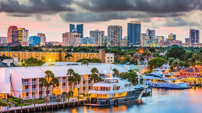 Fort Lauderdale intracoastal waterway yachts