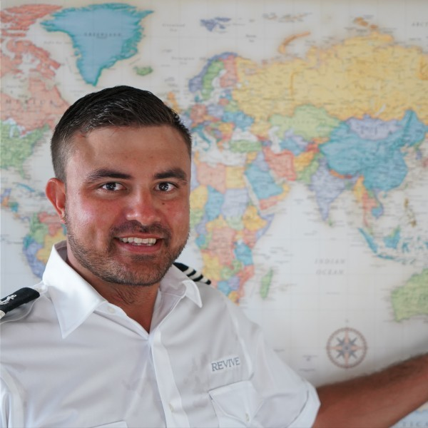 First Officer: JASON WILLIAMS