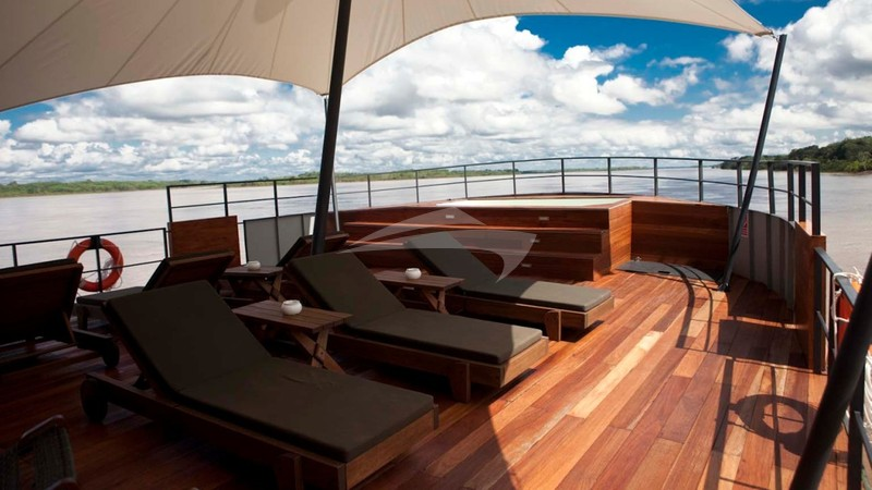 ARIA AMAZON :: Outside Deck