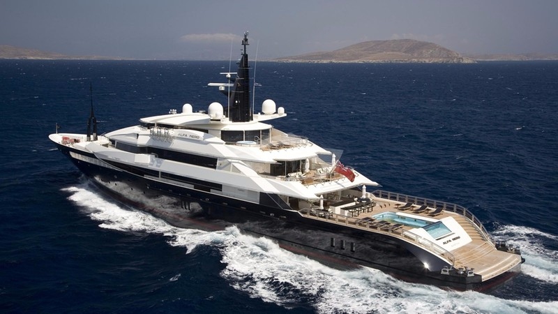 ALFA NERO Yacht for Charter