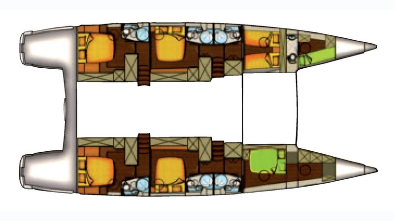 MOBY DICK :: Cabins layout