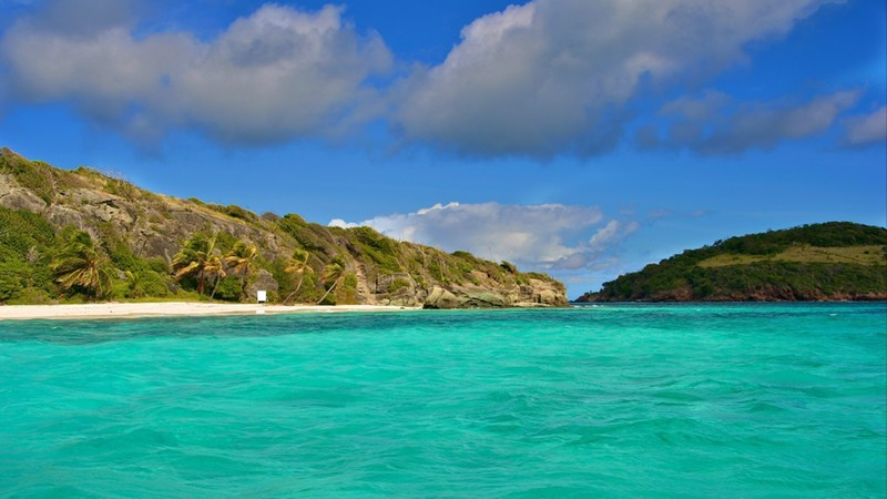 The Tobago Cays are a group of islands belonging to St. Vincent and the Grenadines in the Caribbean.