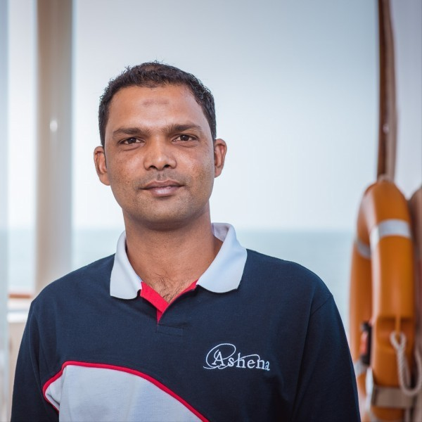 Second engineer: Mansoor Mahadkar