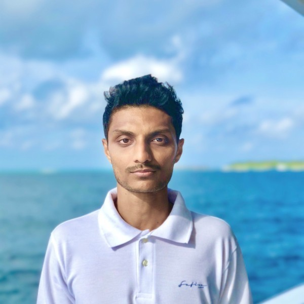 Charter Director/ Manager onboard: Mohamed Shuailam Nasheed