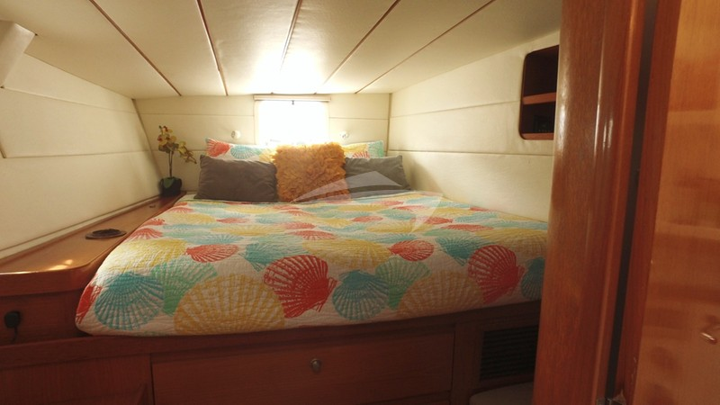 Aft Starboard Guest Suite - AD ASTRA Yacht Charter