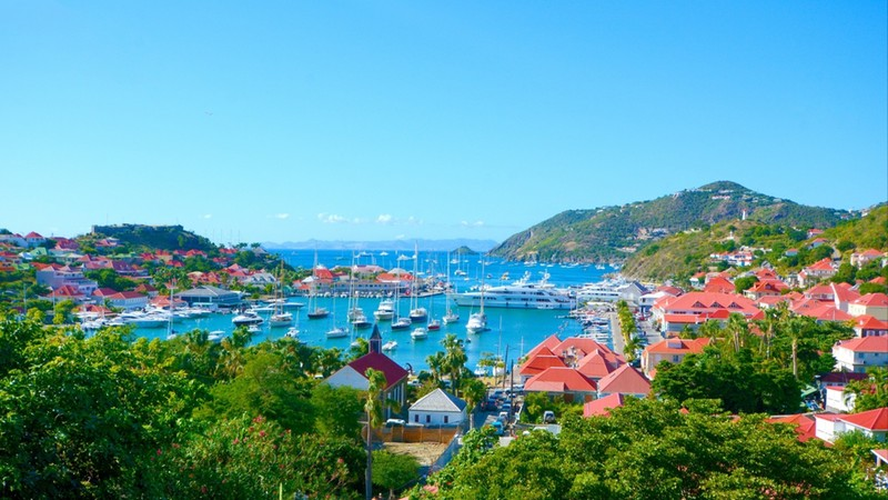 St Barth island