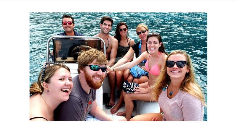 Happy Ma Ha guests - MA HA Yacht Charter