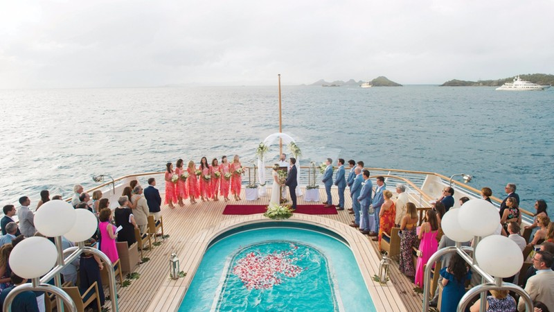 SeaDream - Ideal for private wedding charters