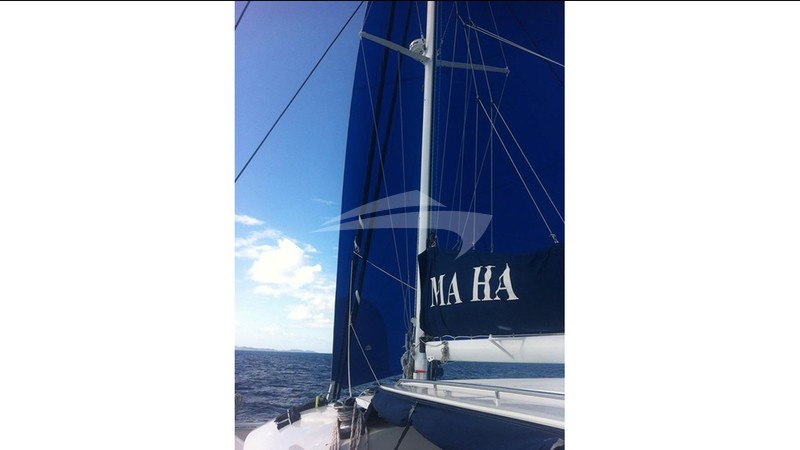 Sails up! - MA HA Charter Yacht