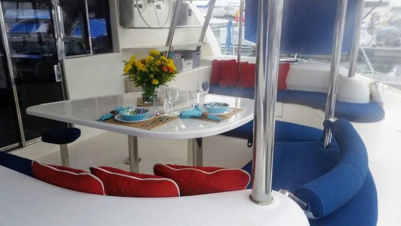 ISLAND TIME :: Aft deck