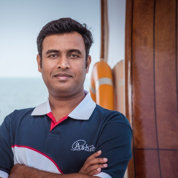 Second Officer / Bosun: Prafulla Gaikawad