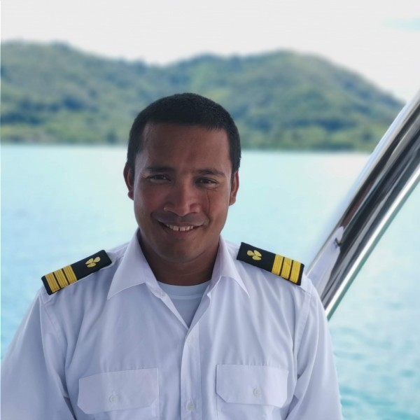 First Mate - Engineer: Weerapong Prom-iad (Pong)