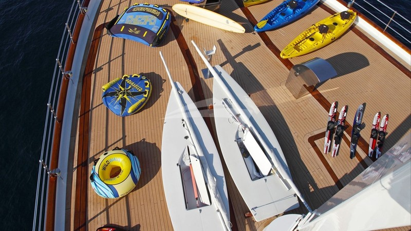 Fore-deck and toys