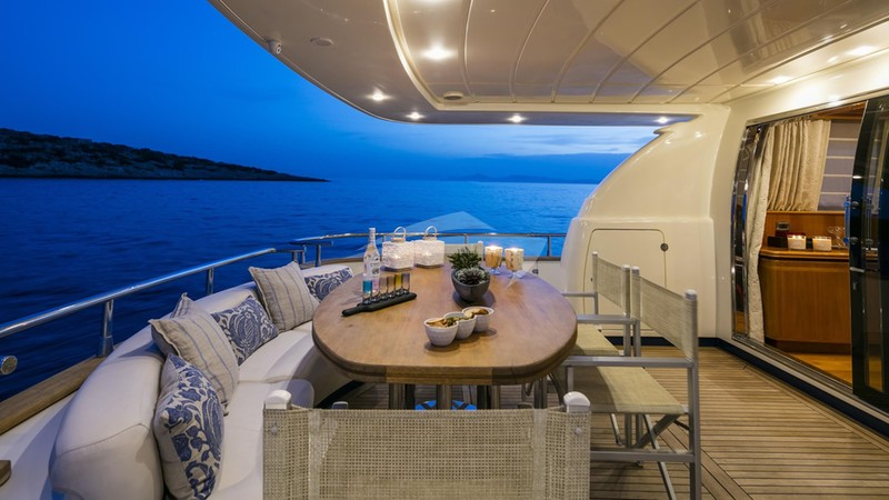 GORGEOUS :: Aft Deck at Night