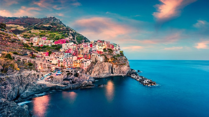 Second city of the Cique Terre sequence of hill cities - Manarola