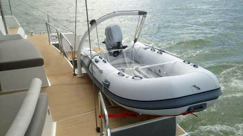 TRILOGY :: Spacious Aft Deck with Tender