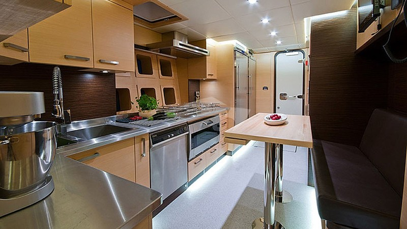 Galley low deck
