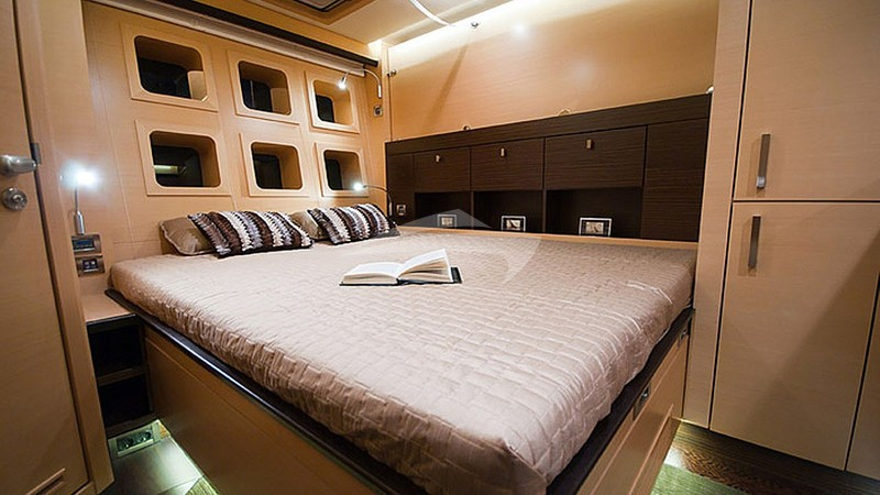 VIP cabin - twin or Queen beds