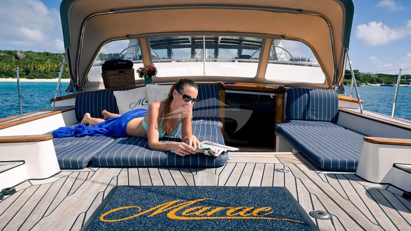 MARAE :: Lounging aft deck