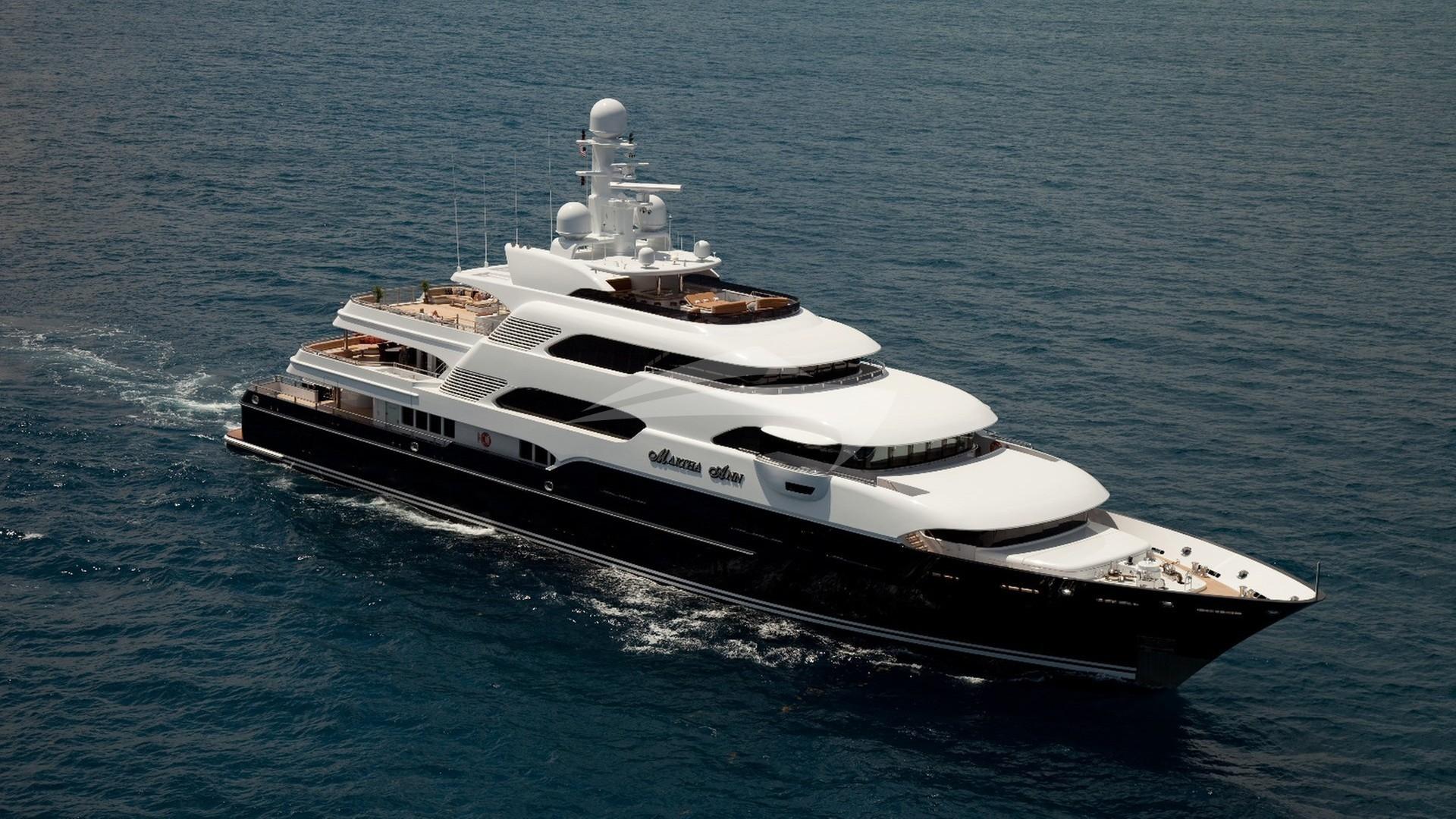 Luxury charter yacht martha ann lurssen power yacht 2008 for Lurssen yacht genova