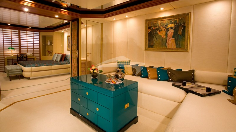 VIP Stateroom and Open Area