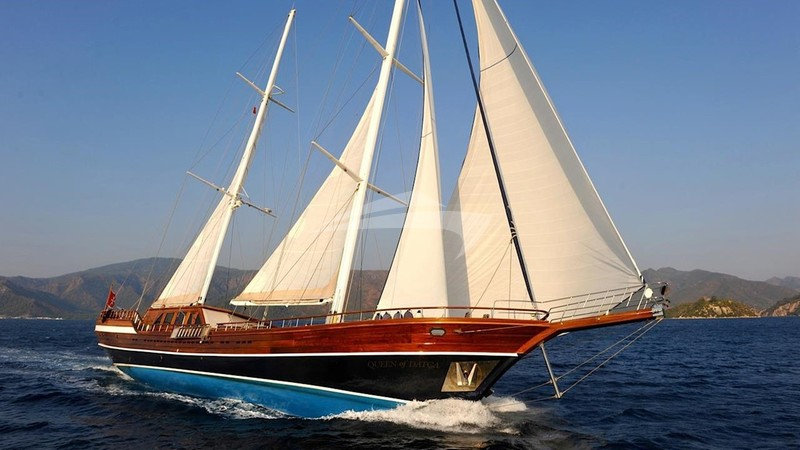 QUEEN OF DATCA Yacht Charter