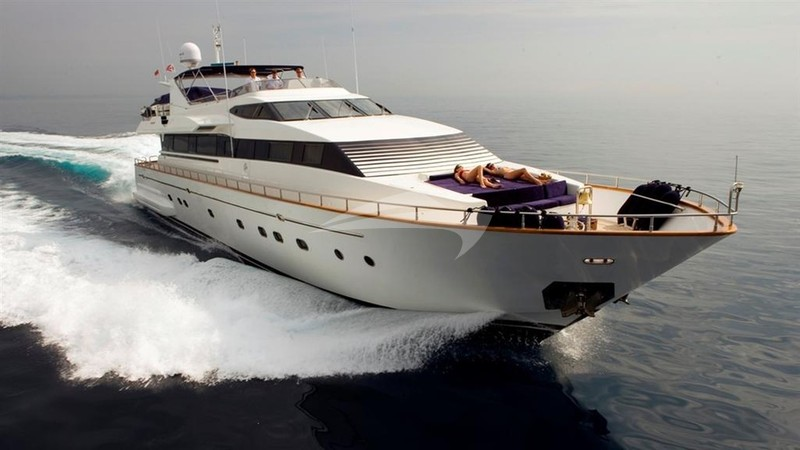 OBSESSION Yacht Charter