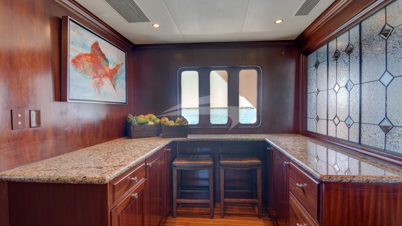 Galley extended